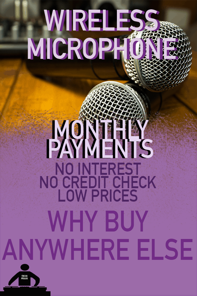 affordable dj microphone