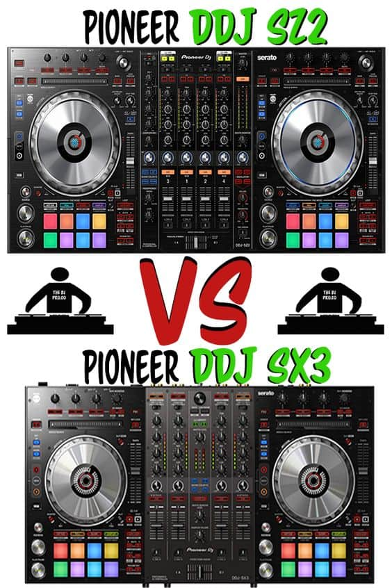DDJ SZ2 vs DDJ SX3 Comparison review. Find out the main differences between these two DJ controllers including pricing, features, etc. #pioneer #ddjsx3 #ddjsz2 #serato #seratodj #dj #djing #thedjpro #pioneerdj